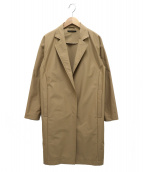 BARNYARDSTORM(バンヤードストーム)の古着「ポリエステルタフタコート」|ベージュ