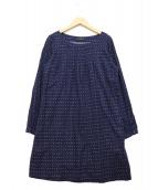 marimekko(マリメッコ)の古着「Muijaワンピース」|ネイビー