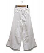 R.H.Vintage(ロンハーマンヴィンテージ)の古着「ワイドパンツ」|ホワイト