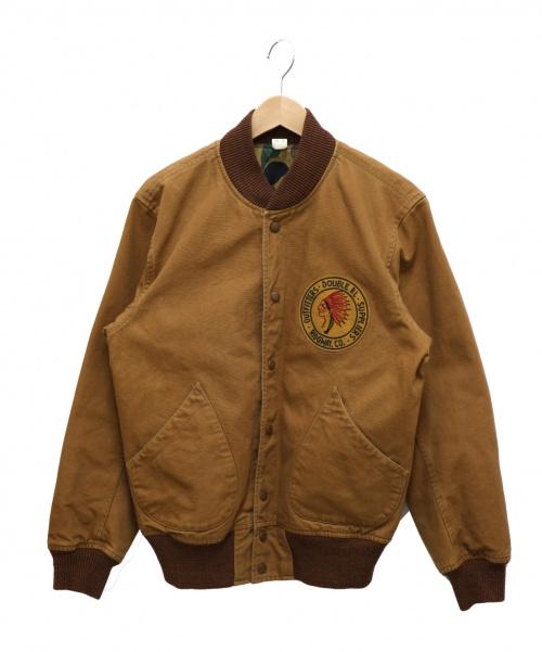 RRL(ダブルアールエル)RRL (ダブルアールエル) REVERSIBLE MURRAY JACKET キャメル×カモ サイズ:Mの古着・服飾アイテム