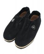 ptarmigan(ターミガン)の古着「ESPAD MOC SUEDE」|ブラック