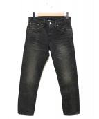 RRL(ダブルアールエル)の古着「デニムパンツ」|ブラック