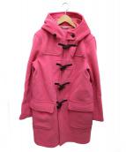 beautiful people(ビューティフルピープル)の古着「w.pile long duffel coat」|ピンク