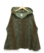 south2 west8(サウスツーウエストエイト)の古着「Leopard Mexican Parka」|グリーン