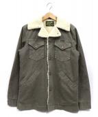 Ron Herman × Wrangler(ロンハーマン × ラングラー)の古着「ボアランチジャケット」|グレー