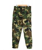 SEABEES(シービーズ)の古着「Cold Weather Camouflage Pants」|ウッドランドカモ