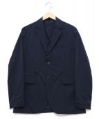 lideal(リデアル)の古着「ナチュラルストレッチテーラードジャケット」|ネイビー