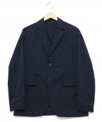 lideal(リディアル)の古着「ナチュラルストレッチテーラードジャケット」|ネイビー