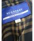 中古・古着 BURBERRY BLUE LABEL (バーバリーブルーレーベル) フーデッドコート ブラック サイズ:38 バーバリー 日本製:7800円
