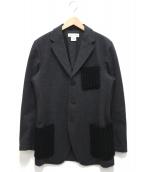DRIES VAN NOTEN(ドリスバンノッテン)の古着「ウールテーラードジャケット」|グレー