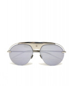 Christian Dior(クリスチャン ディオール)の古着「ミラーレンズサングラス」|シルバー