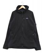 Patagonia(パタゴニア)の古着「Performance Better Sweater Hoo」 ブラック