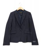 UNITED ARROWS TOKYO(ユナイティッドアローズトウキョウ)の古着「ピンストライプテーラードジャケット」|ネイビー