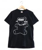Supreme×Undercover(シュプリーム×アンダーカバー)の古着「Bear Tee」|ブラック