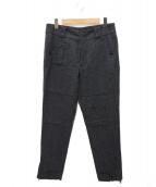 DOLCE & GABBANA(ドルチェアンドガッバーナ)の古着「デザインウール5ポケットパンツ」|グレー