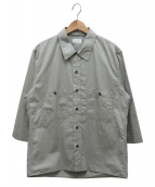 LEMAIRE(ルメール)の古着「オーバーサイズシャツ」|グレー