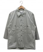 LEMAIRE()の古着「オーバーサイズシャツ」 グレー