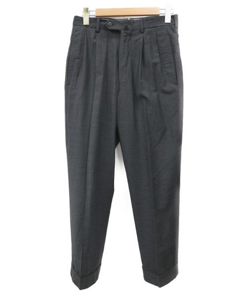 INCOTEX(インコテックス)INCOTEX (インコテックス) ウールスラックス グレー サイズ:44の古着・服飾アイテム