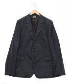 BEAUTY&YOUTH(ビューティーアンドユース)の古着「Dressグレンチェック2Bジャケット」|グレー