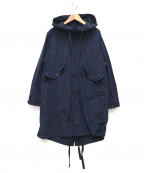 FWk Engineered Garments(エフダブリューケーエンジニアードガーメンツ)の古着「Highland Parka Acrylic Coated」|ネイビー