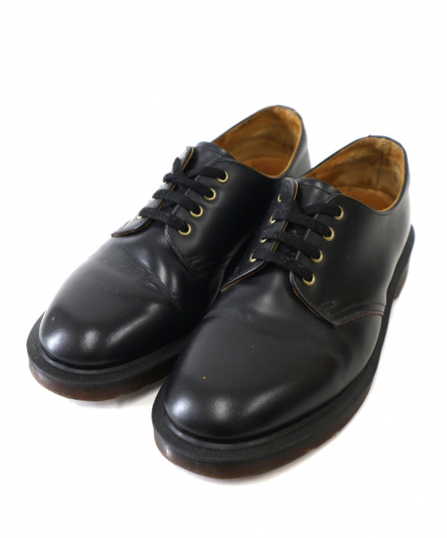 Dr.Martens(ドクターマーチン)Dr.Martens (ドクターマーチン) 4ホールシューズ ブラック サイズ:UK4 SMITHSの古着・服飾アイテム