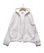 NEXUSVII(ネクサスセブン)の古着「ダメージ加工羽織パーカー」 ホワイト