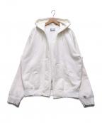 NEXUSVII(ネクサスセブン)の古着「ダメージ加工羽織パーカー」|ホワイト