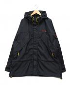 POLO JEANS CO.(ポロジーンズカンパニー)の古着「ミックスナイロンジャケット」|ブラック