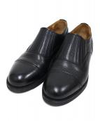Hender Scheme(エンダースキーマ)の古着「front gore」 ブラック