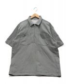 AURALEE(オーラリー)の古着「ハーフジップスウェット」|グレー
