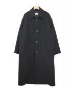 lownn(ローン)の古着「カシミヤブレンドウールコート」|ブラック