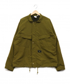 UNDEFEATED(アンディフィーテッド)の古着「NYLON CHEMICAL JACKET」|カーキ