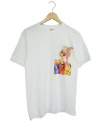 Sekintani La Norihiro x Supreme(セキンタニラノリヒロ×シュプリーム)の古着「Tシャツ」|ホワイト
