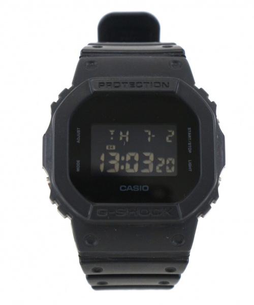 CASIO(カシオ)CASIO (カシオ) G-SHOCK ブラック DW-5600BB クォーツ ラバーの古着・服飾アイテム