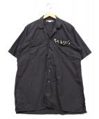 STELLA McCARTNEY(ステラ・マッカートニー)の古着「オープンカラーシャツ」|グレー