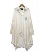 KEITA MARUYAMA(ケイタ マルヤマ)の古着「ニットカーディガン」|ホワイト
