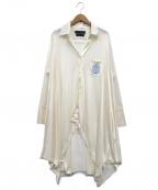 KEITA MARUYAMA(ケイタマルヤマ)の古着「ニットカーディガン」 ホワイト