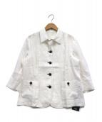 LEPORTE(レポルテ)の古着「リネンジャケット」|ホワイト