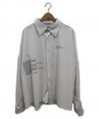 DANKE SCHON(ダンケ シェーン)の古着「オーバーサイズシャツ」|ホワイト