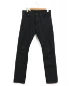 POLO RALPH LAUREN(ポロラルフローレン)の古着「デニムパンツ」|ブラック