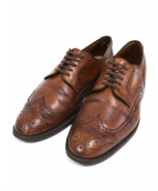Allen Edmonds(アレンエドモンズ)の古着「ウィングチップシューズ」 ブラウン