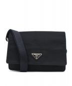PRADA(プラダ)の古着「ナイロンミニショルダーポーチ」|ブラック