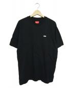 Supreme(シュプリーム)の古着「リフレクティブスモールボックスロゴTシャツ」|ブラック