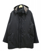 LACOSTE(ラコステ)の古着「フードハイネックコート」|ブラック