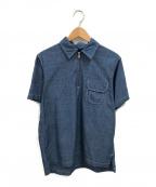 THE NORTHFACE PURPLELABEL()の古着「シャンブレージップアップシャツ」|ブルー