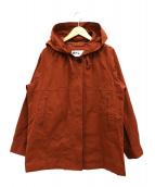 MHL(エムエイチエル)の古着「PROOFED COTTON POPLIN PARKER」|ブラウン