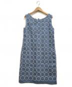 mina perhonen()の古着「tambourine dress」|ブルー