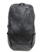TORNADO MART(トルネードマート)の古着「シュリンクレザーバックパック」|ブラック