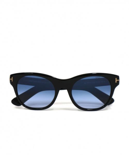 TOM FORD(トム フォード)TOM FORD (トム フォード) サングラス ブラック×ブルー サイズ:51□20 Ally TF532の古着・服飾アイテム