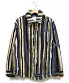 NAPAPIJRI(ナパピリ)の古着「フリースジャケット」|ブルー×イエロー